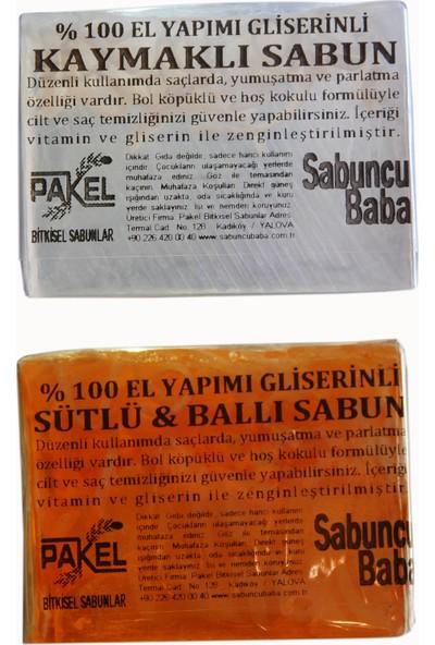Pakel Sütlü Ballı Sabun ve Kaymaklı Sabun