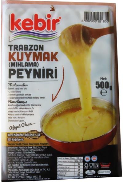 Kebir Trabzon Kuymak Peyniri 500 gr