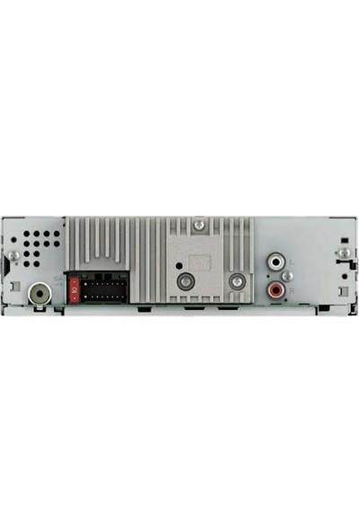 Pioneer MVH-S215BT BT/USB/Aux Amfi Çıkışlı Oto Teyp