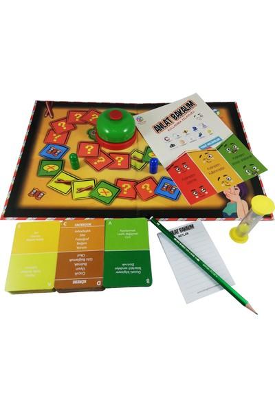 Hobi Eğitim Dünyası Anlat Bakalım Eğitici Aile Oyunu