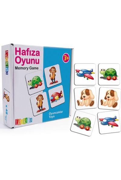 Edukido Eğitici Oyuncak Hafıza Oyunu - Oyuncaklar Çocuk Kutu Oyun