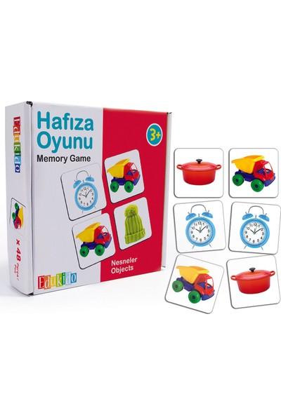Edukido Hafıza Oyunu - Nesneler