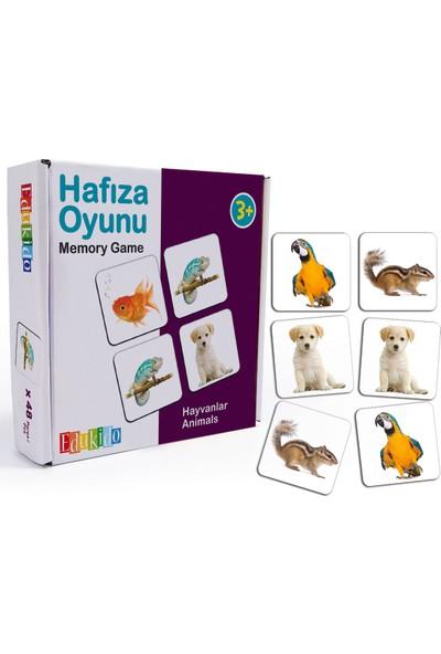 Edukido Hafıza Oyunu - Hayvanlar