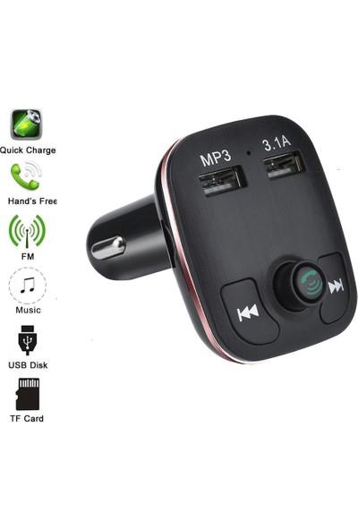 Bludfire A5 Çift USB Portlu (3.1) Multi Fonksiyonel FM Transmitter