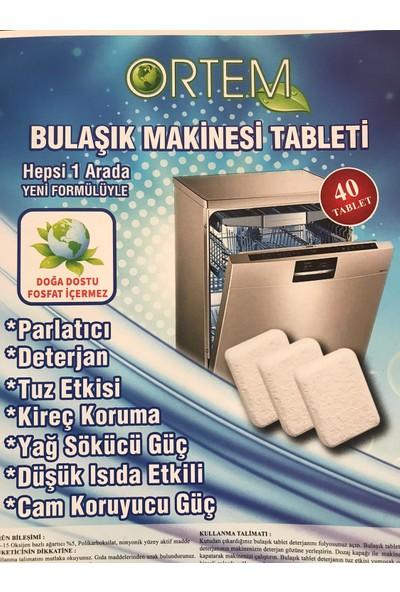 Ortem Bulaşık Makina Tableti