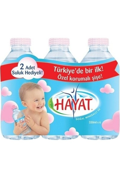Hayat Baby Su 6x0,33 lt