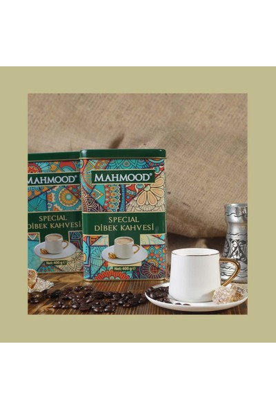 Mahmood Specıal Dibek Kahvesi Teneke 400 gr