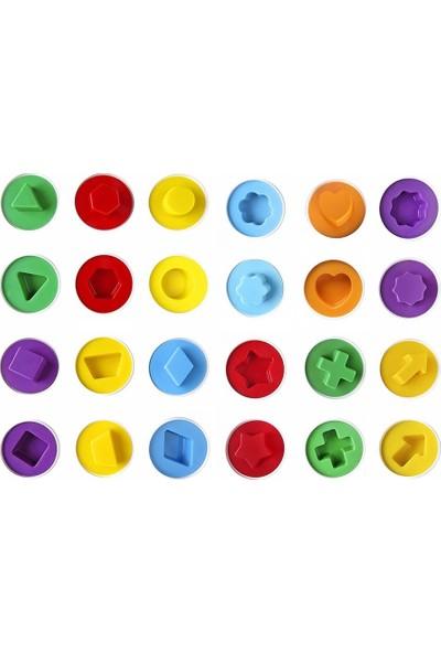 Hi-Q Toys Şekilli Yumurta 12'li (24 Parça)