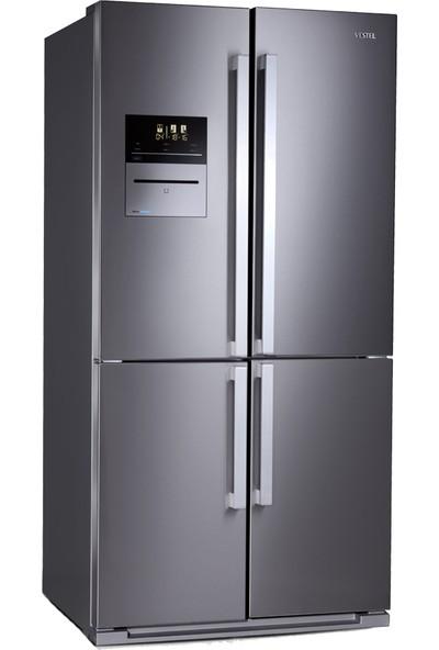 Vestel PUZZLE NF655 EX Vakum Buzdolabı