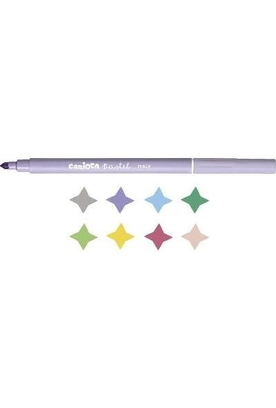 Carioca Pastel Süper Yıkanabilir Keçeli Kalem 8'Li