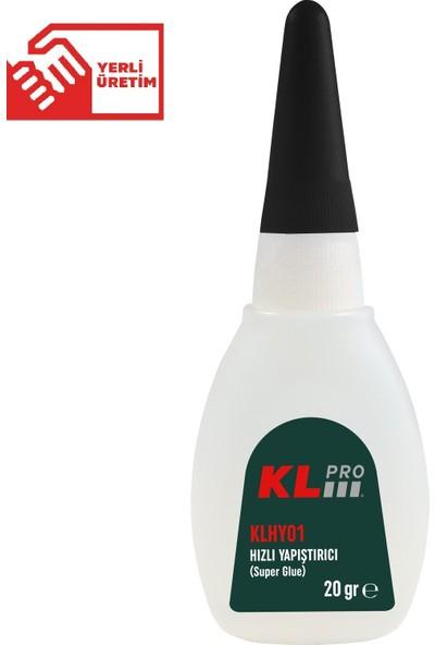 KLPRO KLHY01 Hızlı Japon Yapıştırıcı 20 gr