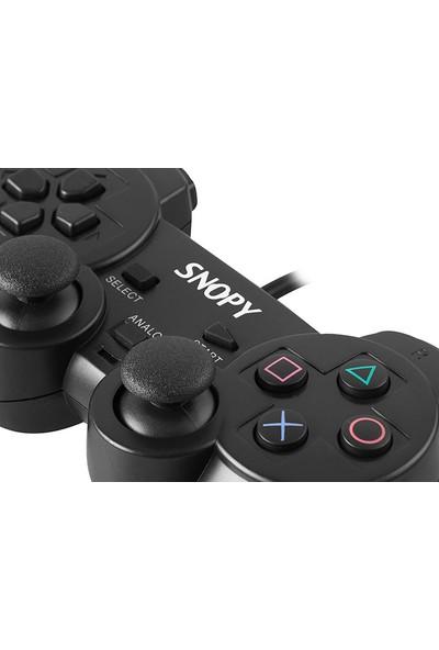 Snopy SG-606 USB PS2/PS3/PC Black Joypad