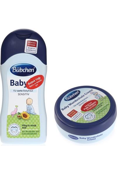 Bübchen Bebek yağı ve Bariyer Krem
