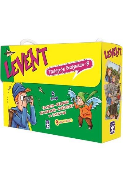 Levent Türkiye'yi Geziyorum 3 Set (5 Kitap) - Mustafa Orakçı
