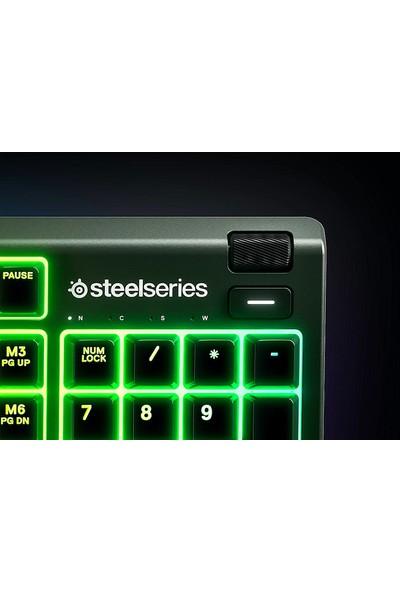 SteelSeries Apex 3 IP32 RGB Kablolu Oyuncu Klavyesi