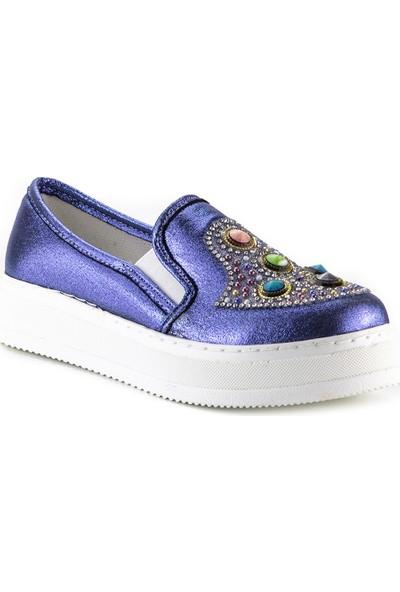Minipicco Kız Çocuk Lacivert Ortopedik Ayakkabı