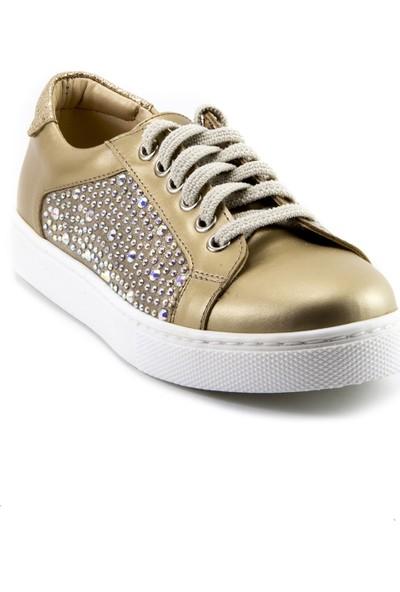 Minipicco Kız Çocuk Altın Ortopedik Ayakkabı