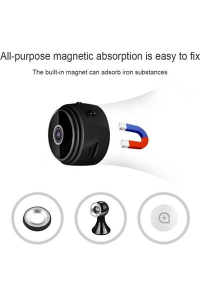 A9 Mini DV WiFi 1080p Manyetik Gece Görüş Hareket Sensörlü Kamera