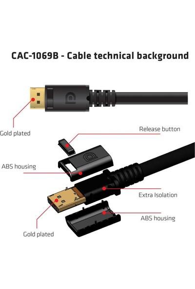 Club 3D Display Port 1.4 HBR3 8K Kablo M / M / 13.12FT 4 m CAC-1069B