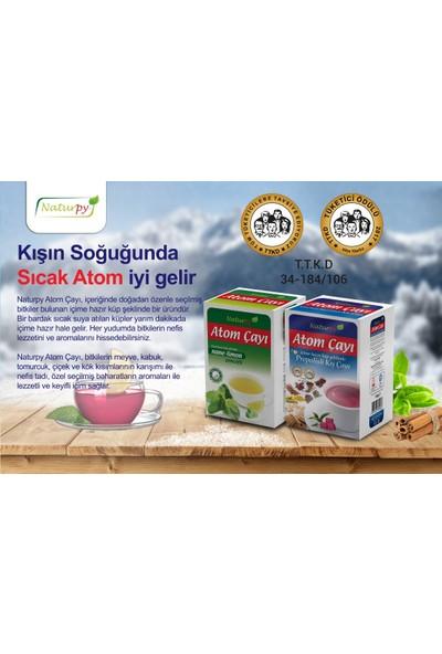 Naturpy Propolisli Atom Çayı 150 gr + Nane Limon Çayı 135 gr