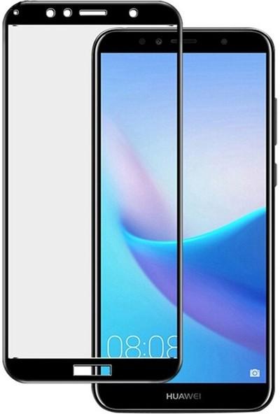 Eiroo Huawei Y5 2019 Curve Tempered Glass Full Mat Ekran Koruyucu