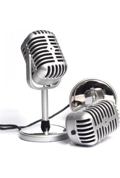Wonderland Cube Masaüstü Nostalji Mikrofon