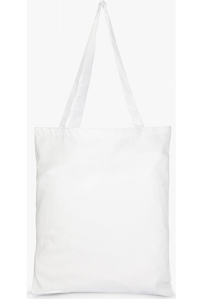 Syronix Alt Körüklü Ham Beyaz Bez Çanta 35 cm x 40 cm 10'lu