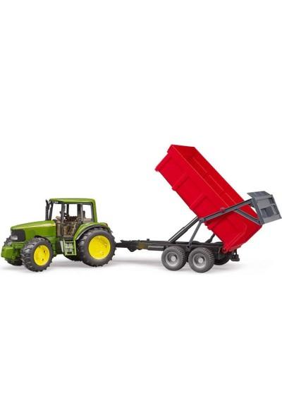 Bruder John Deere 6920 Traktör+ Kırmızı Römork 02057