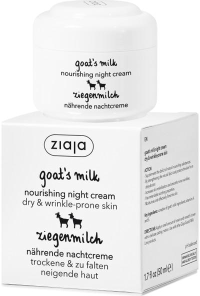 Ziaja Keçi Sütü Gece Kremi 50 ml