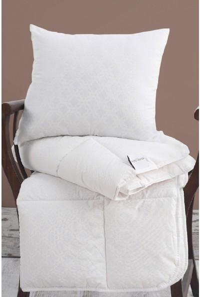 Marie Claire Yastık-Bebek Yastık Yorgan Set Kacy Beyaz