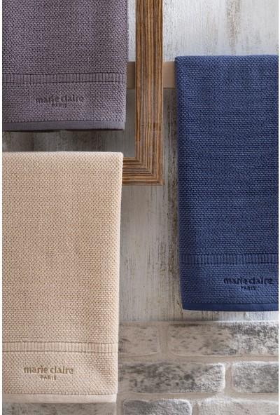 Marie Claire Havlu-Jacky 50 x 90 Cm Tekli Gri 100% Micro Cotton