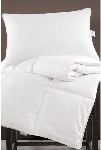 Marie Claire Yorgan-Çift Kişilik Samara Kaz Tüyü Yorgan 195 x 215 Cm Beyaz