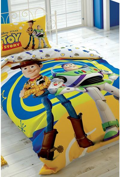 Taç Tek Kişilik Lisanslı Nevresim Takımı-Toy Story 4