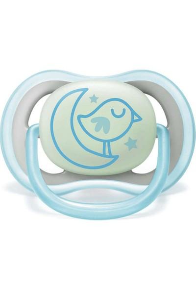 Philips Avent Ultra Air Gece Emziği 6-18 ay Erkek SCF376/21