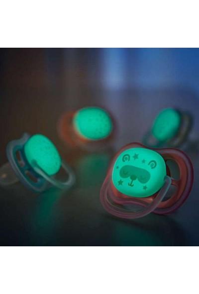 Philips Avent Ultra Air Gece Emziği 6-18 ay Kız SCF376/22