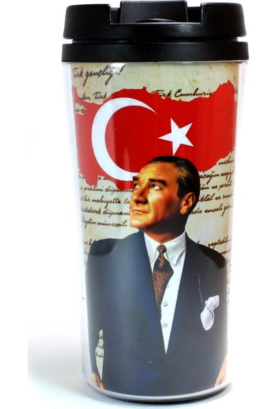 Modaroma Atatürk & Bayrak Termos Bardak