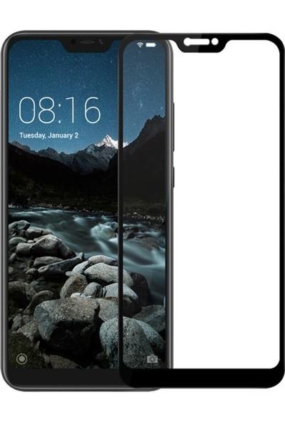 Logis Xiaomi Redmi 6 Pro 5D Tam Ekran Koruyucu Full Kaplama Cam