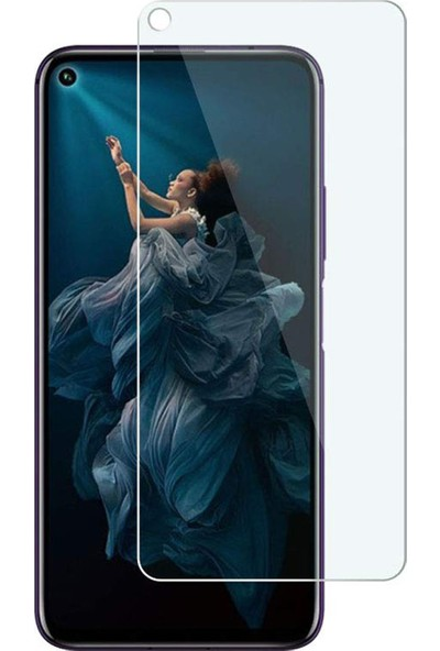 Microcase Huawei Nova 5T Tempered Glass Cam Koruma
