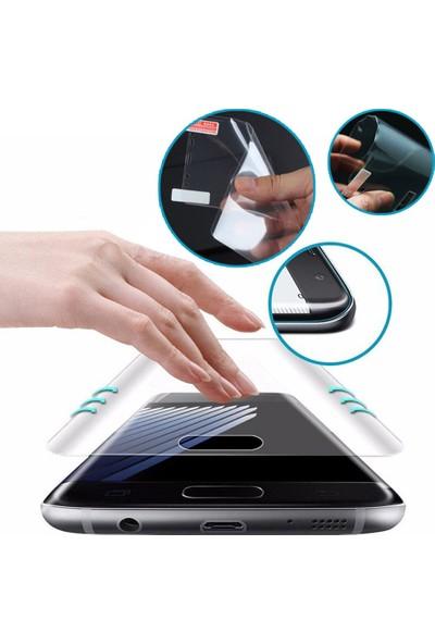 Microcase OnePlus 7T Pro Full Ekran Koruma Curved 3D Pet Film