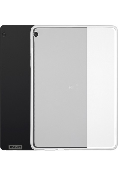 "Microcase Lenovo TAB M10 X505L 10.1"" Silikon Kılıf - Şeffaf"