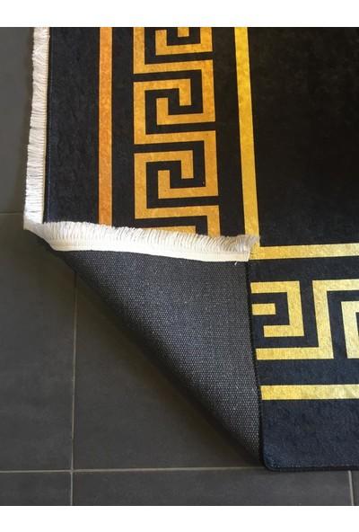 Nessa Home Yıkanabilir Kaydırmaz Özellikli Dekoratif Halı 100 x 150 cm