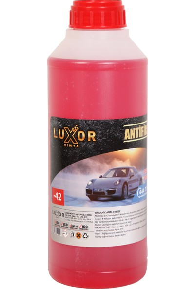 Luxor Kimya 4 Mevsim -42' Kırmızı Antifriz 1.5 l Konsantre