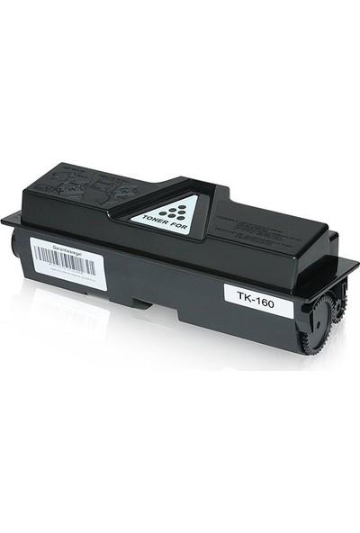 Static Kyocera Mita TK-160 Smart Toner FS-1120DN Muadil Toner 2500 Sayfa Siyah