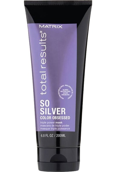 Matrix Total Results Color Obsessed So Silver Maske 200ML