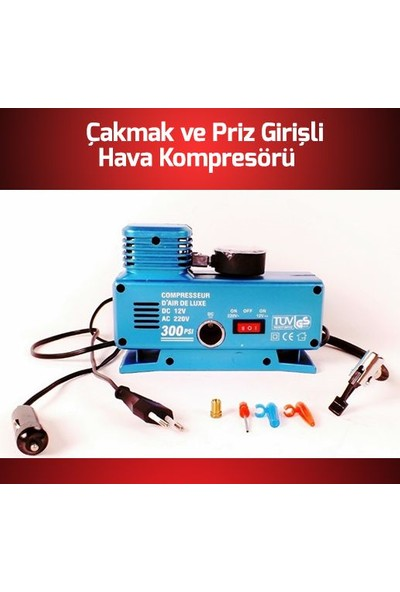 DMR Kompresörü 12 V VE 220 V