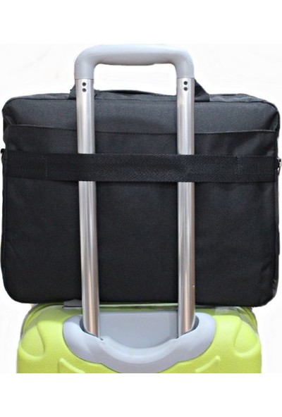 Tkz TK-683 Siyah 4 Bölmeli Notebook Çantası Valiz Taşıma Aparatlı