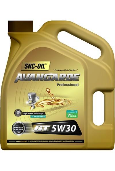 SNC Motor Yağı Avangarde 5/30 4 l Dpf Üretim Yılı 2021