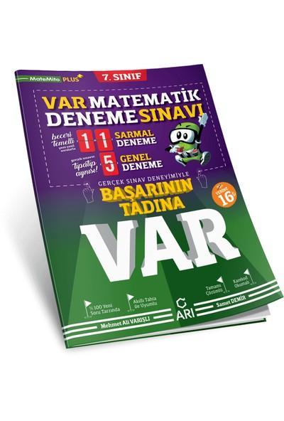 Arı Yayıncılık 7. Sınıf Matematik Var Deneme Sınavı