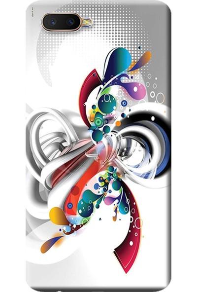 Kılıf Merkezi Oppo Rx17 Neo Kılıf (CPH1893) Baskılı Silikon Rendkli Tasarım STK:570