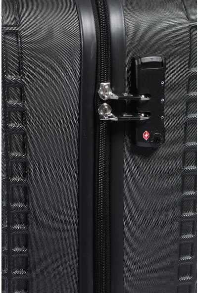Pıerre Cardın Kabin Boy Bavul 04Pc1300-03 Siyah